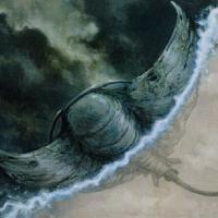 裂け目翼の雲間を泳ぐもの