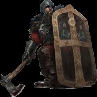 鉱人の神官戦士(ブルガル)