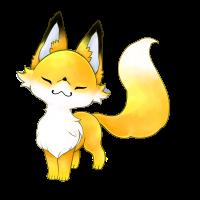 カフェオレ狐
